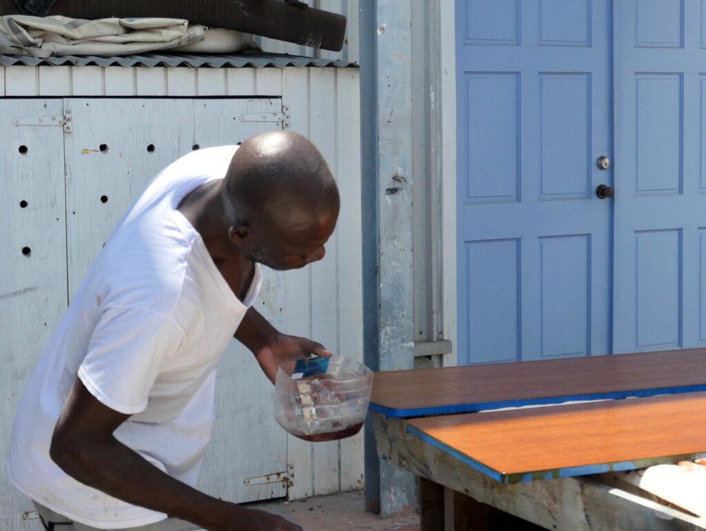 Abu from Caribbean Marina Painting
