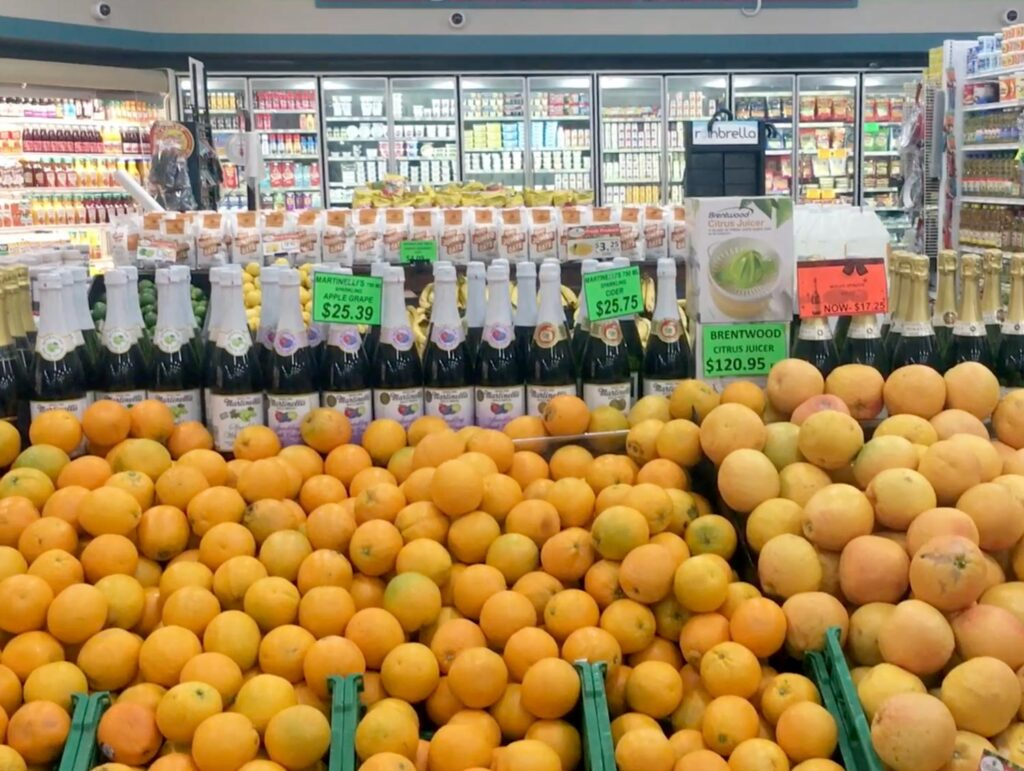 fresh fruit and supplies in Epicurean