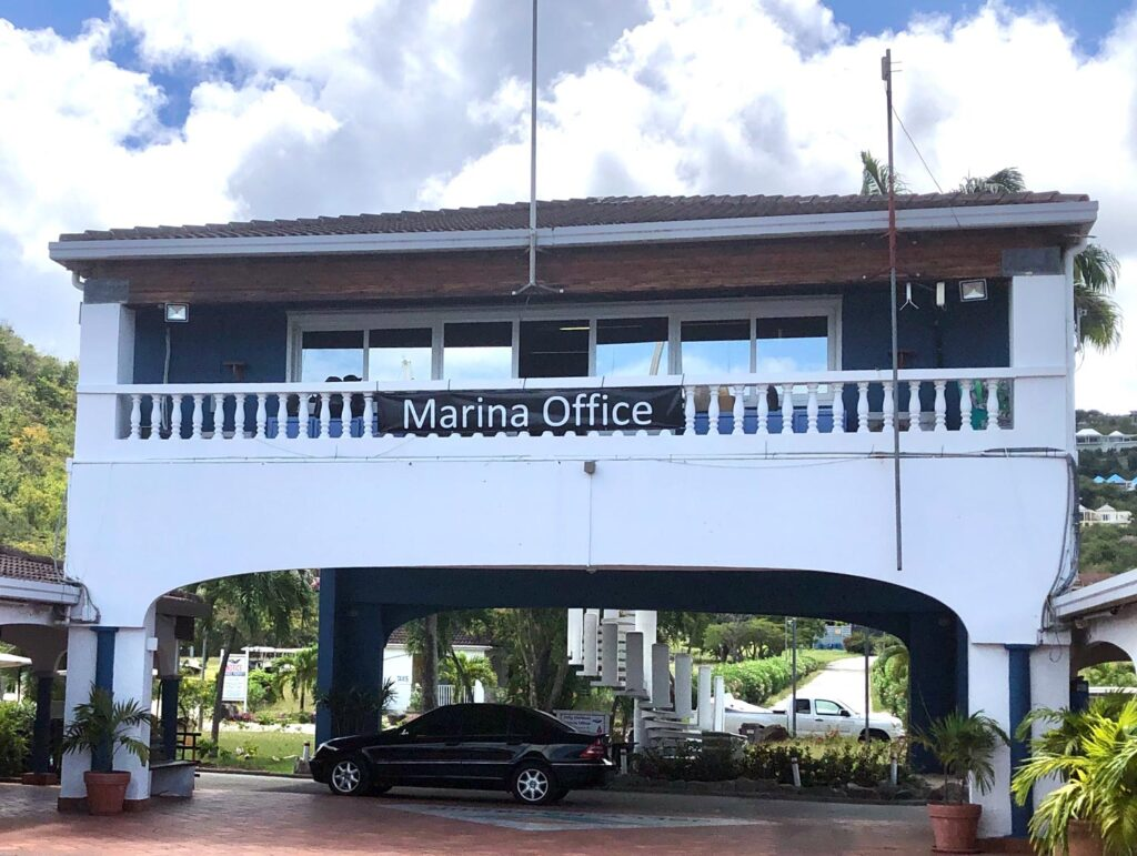 Jolly Harbour Marina Office building