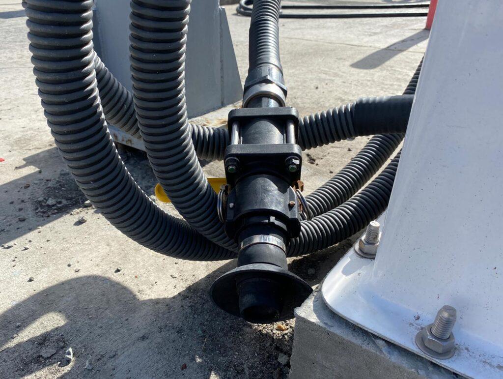 a pump out hose